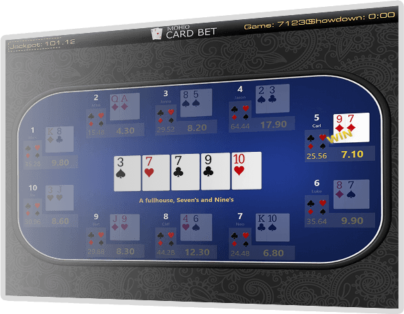 Poker Bet - Single Table